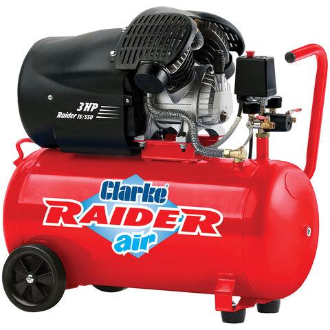 Clarke Clarke Raider 15/550 50 Litre V-Twin Air Compressor (2.2kW / 3HP)