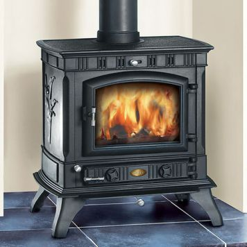 Clarke Clarke Richmond Cast Iron Wood Burning Stove
