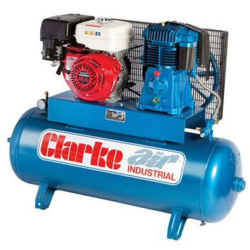 Clarke Clarke SP27EC150 23cfm 150Litre 8HP Electric Start Petrol Air Compressor