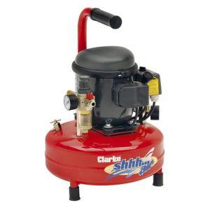 Clarke Clarke Shhh Air 30/9 0.88cfm 9Litre 0.25HP Quiet Run Compressor (230V)