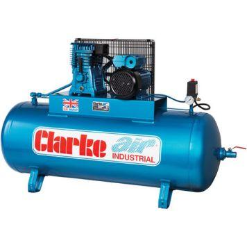 Clarke Clarke XE18/200 (OL) 18cfm 200Litre 4HP Industrial Air Compressor (230V)