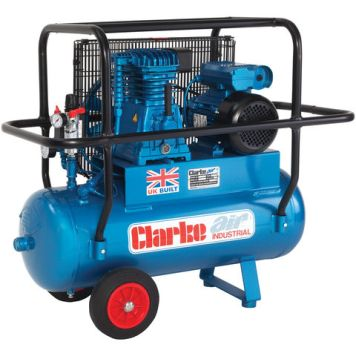 Clarke Clarke XEP15H/50 (OL) 14cfm 50Litre 3HP Industrial Air Compressor with Cage (110V)