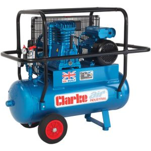 Clarke Clarke XEP15H/50 (OL) 14cfm 50Litre 3HP Industrial Air Compressor with Cage (230V)