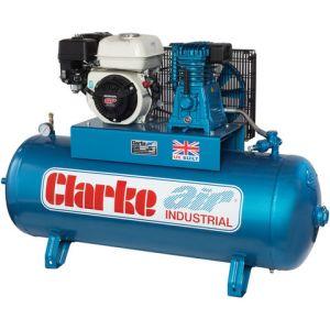 Clarke Clarke XP15/150 15cfm 150Litre 6.5HP Petrol Industrial Air Compressor