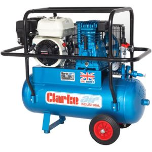 Clarke Clarke XPPH15/50 15cfm 50Litre 6.5HP Portable Petrol Air Compressor with Cage