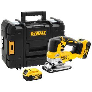DeWalt DeWalt DCS334P2-GB 18V XR Brushless Top Handled Jigsaw with 2 x 5Ah Batteries