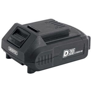 Draper Draper D20B2.0AH D20 20V Lithium Ion Battery (2.0Ah)