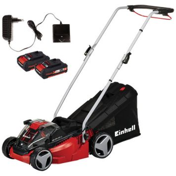 Einhell Power X-Change Einhell Power X-Change GE-CM 33 Li Kit 36V Lithium Ion Cordless Mower & 2 x 2Ah Batteries