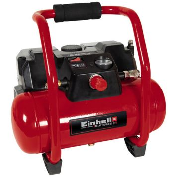 Einhell Power X-Change Einhell Power X-Change TE-AC 36/6/8 Li OF Set-Solo 3.1cfm 6Litre Cordless Air Compressor (Bare Unit)