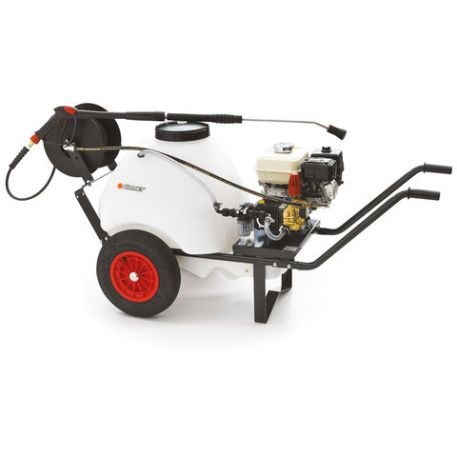 Emak Comet FDX WB 8/160 G200F Loncin Petrol Engine Pressure Washer with Bowser