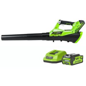 Greenworks Greenworks G40ABK2 Axial Blower with 2Ah Battery and Charger (40V)