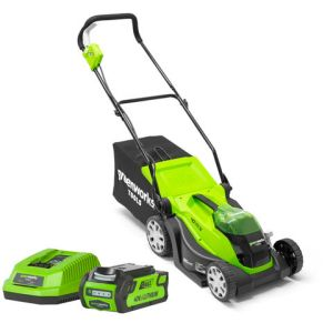 Greenworks Greenworks G40LM35K2 35cm Mower with 40V/2Ah Battery and Charger