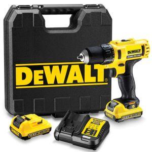 Machine Mart Xtra DeWalt DCD710D2 10.8V XR Li-Ion Compact Drill/Driver with 2 x 2Ah Batteries