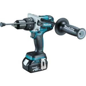 Makita Makita DHP481RTJ 18V Brushless Combi Drill LXT & 2 x 5.0Ah Batteries