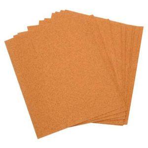 National Abrasives Cabinet Sand Paper Sheets - Pk 10, Assorted