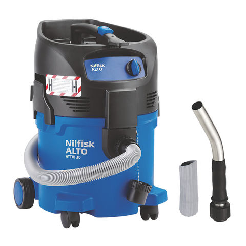 Nilfisk ALTO Nilfisk ATTIX 30-0H PC H Class Safety Wet & Dry Vacuum Cleaner (230V)