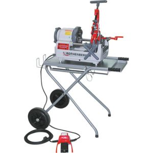 Rothenberger Rothenberger 56045 Ropower 50R Pipe Threader and Trolley (110V)