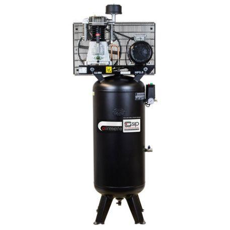 SIP SIP VN5.5/150-TB 24cfm 150Litre 5.5HP Vertical Air Compressor (400V)