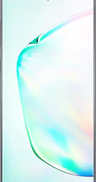 Samsung Galaxy Note10 Plus (256GB Aura Glow) at £19.00 on Unlimited Max (24 Month(s) contract) with UNLIMITED mins; UNLIMITED texts; UNLIMITEDMB of 5G data. £47.00 a month.