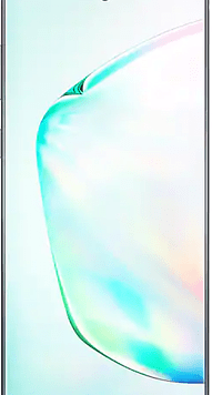 Samsung Galaxy Note10 Plus (256GB Aura Glow) at £199.00 on Unlimited Lite (24 Month(s) contract) with UNLIMITED mins; UNLIMITED texts; UNLIMITEDMB of 5G data. £38.00 a month.