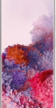 Samsung Galaxy S20 5G (128GB Pink) at £49.00 on Red with Entertainment (24 Month(s) contract) with UNLIMITED mins; UNLIMITED texts; 24000MB of 5G data. £66.00 a month.