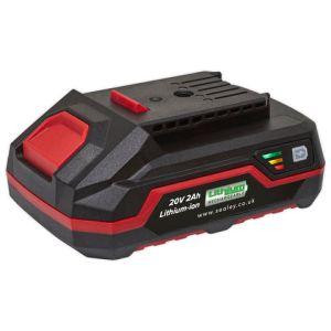 Sealey Sealey CP20VBP2 Power Tool Battery 20V 2Ah Li-ion for CP20V Series