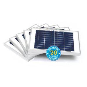 Solar Technology International PV Logic 10Wp Bulk Packed Solar Panels (5 Pack)