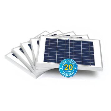 Solar Technology International PV Logic 10Wp Bulk Packed Solar Panels (5 Pack)