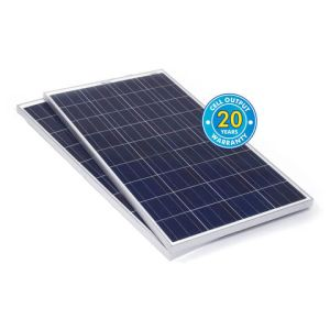 Solar Technology International PV Logic 120Wp Bulk Packed Solar Panels (2 Pack)