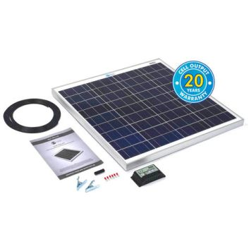 Solar Technology International PV Logic 60Wp Solar Panel Kit &10Ah Charge Controller