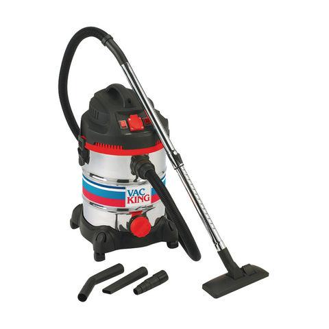 Vac King Vac King CVAC30SSR Wet & Dry Vacuum Cleaner (230V)