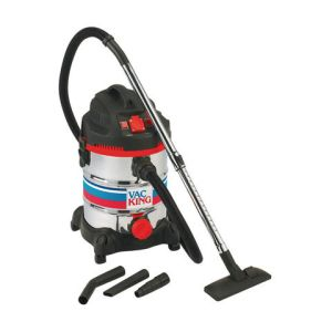 Vac King Vac King CVAC30SSR Wet & Dry Vacuum Cleaner (230V)