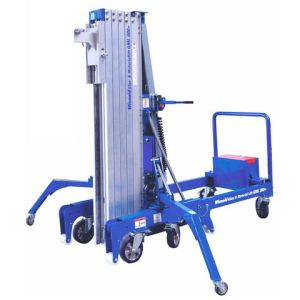 Wienold Wienold GML800+ 25KM 800kg Glass and Material Lift with Counter-Weights