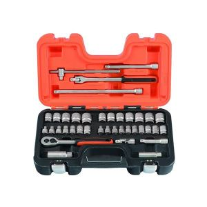 Bahco S380 Socket Set of 38 Metric 3/8in Drive