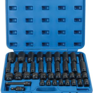 Laser Laser 6429 40 Piece 1/2'' Drive Metric Impact Socket Set