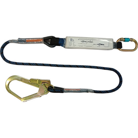 Talurit UFS PROTECTS UT812 1.8m Energy Absorbing Lanyard with Kernmantal Rope