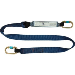 Talurit UFS PROTECTS UT827 1.8m Energy Absorbing Webbing Lanyard 2 x Carabiners