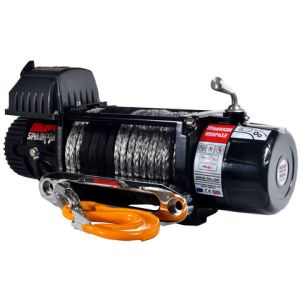 Warrior Warrior Spartan 4309kg 12V DC Synthetic Rope Winch
