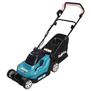 Makita Makita DLM382PG2 Lawn Mower 38cm (with 2 x 6.0Ah Batteries & DC18RD Twin Port Charger)