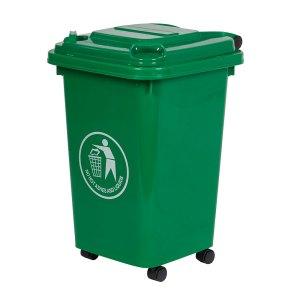 30L Green Wheeled Bin