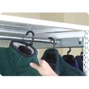 450mm Supports for Garment Rail for Stormor Shelving