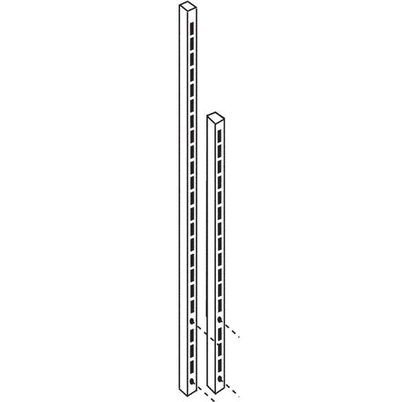 760 high bolt on Rear Posts / Uprights for BA/BC/BE/BQ/BS Workbenches