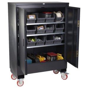 Armorgard FittingStor Mobile Fittings Cabinet - Single Door
