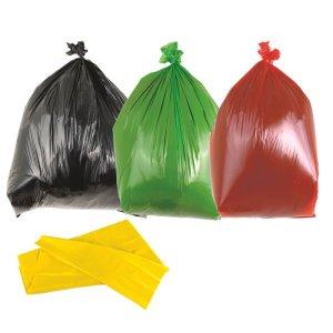 Black Heavy Duty Bin Bags 90L - Box of 200 bags
