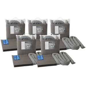 Box of 5 Chemical30litre spill kits