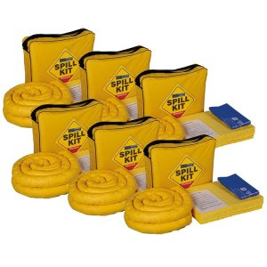 Box of 6 Chemical 50litre Shoulder Bag spill kits