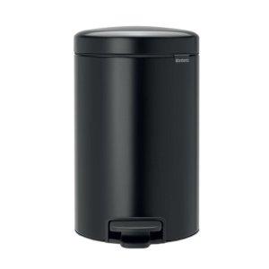 Brabantia Soft Close Steel Pedal Bin - 30L - Black