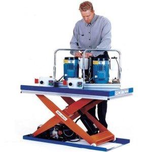 Budget Scissor Lift Tables 1,000kg cap 700w x 900 long