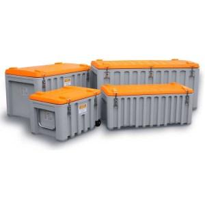 CEMbox Trolley 150 - Grey / Orange, 150L