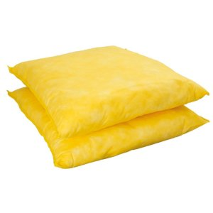 Chemical Absorbent Spill Pillow, pack of 16, 400mm x 500mm